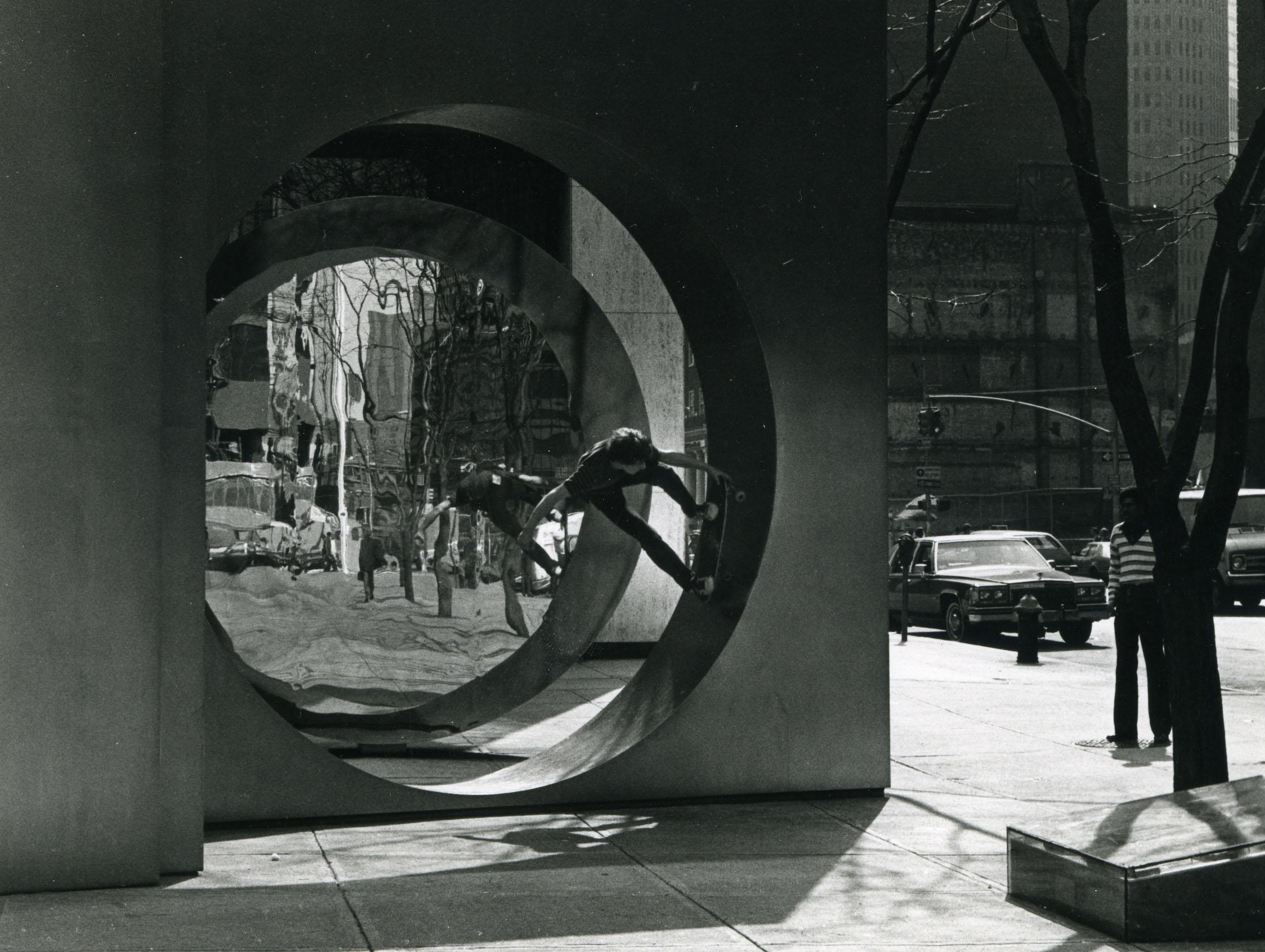 Landskating. New York - Photo Jessica Bard, circa 1980
