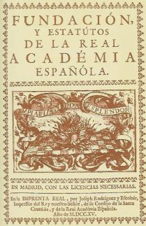 "Real Academia Española: ""Limpia, fija y da esplendor"""