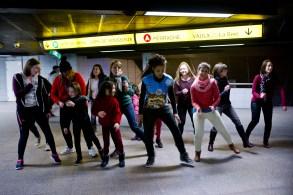 Cours de danse-minute © Romain Etienne/item