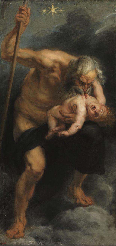 Rubens, Saturne dévorant l'un de ses enfants (1636), Musée du Prado, Madrid