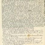 2e page de la lettre envoyée de Mexico le 18 septembre 1974 ©Archives de la famille Dalton