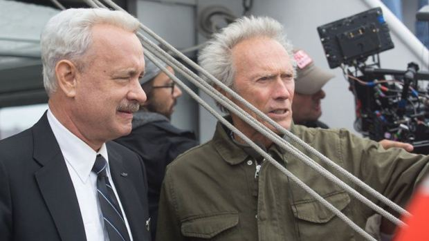 Two old white men: Tom Hank, Clint Eastwood