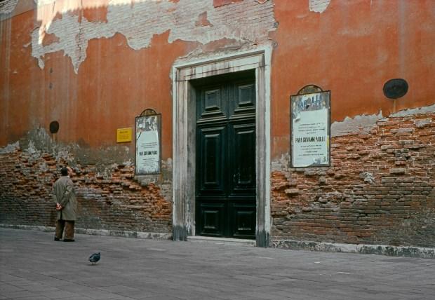 Venise, 1978 ©Gilles Walusinski
