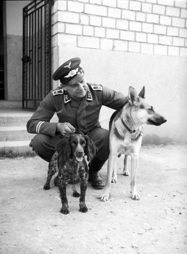 Les portraits d'Egon Pfende. La Wehrmacht, amie des bêtes?