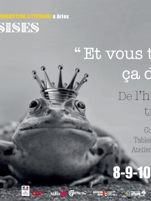 De l'humour en traduction: 36e assises de la traduction littéraire, ATLAS, Arles 2019
