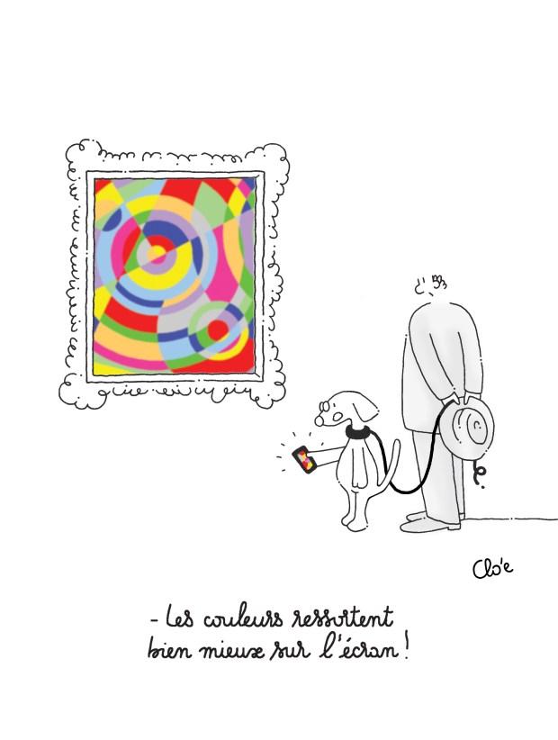 Les couleurs vues par Clo'e