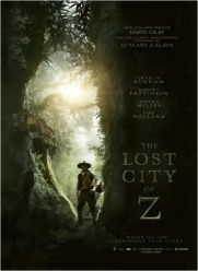 The Lost City of Z, de Charlie Hunnam, Robert Pattinson, Sienna Miller…
