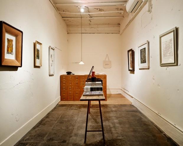 Morioka Shoten, a single room with a single book