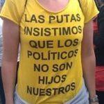 Las putas insistimos en que los políticos no son nuestros hijos