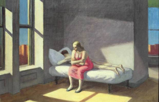 Summer in the City, Edward Hopper, 1950