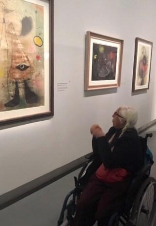 Joan Miró, vue de l'exposition
