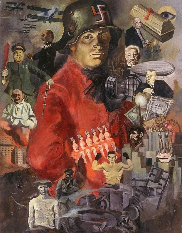 Weimar carnival : ce carnaval qu'était Weimar, tableau de Horst Naumann , 1929