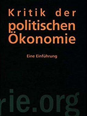 Kritik der politischen Ökonomie