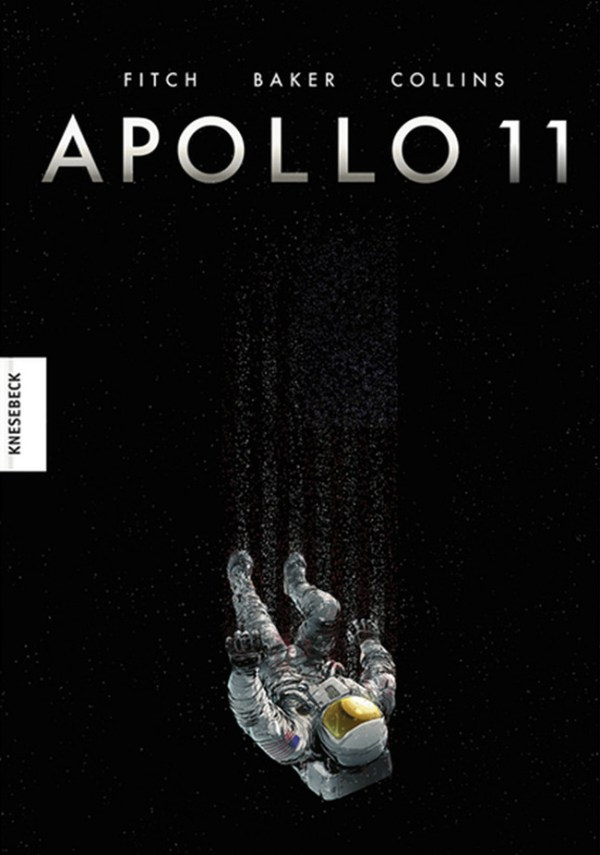 Buchcover, fallender Astronaut