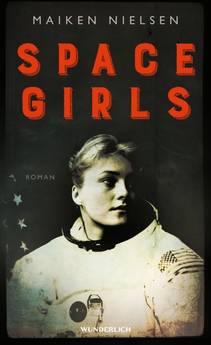 Buchcover mit Astronautin