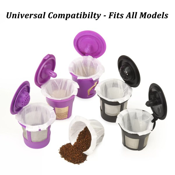 Delibru Disposable Paper Cups for K Cups