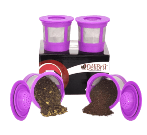 DeliBru Reusable K-Cups