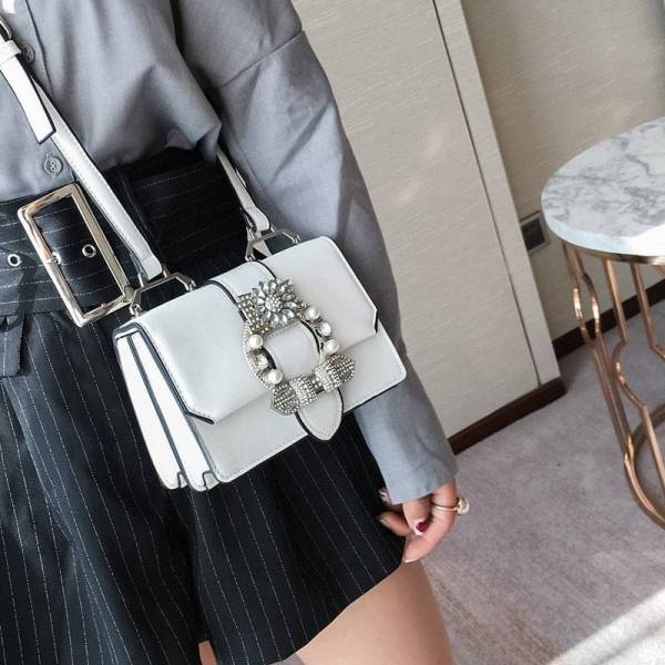 Sac Fashion Designer Diamand Elégant et de haute qualité 6