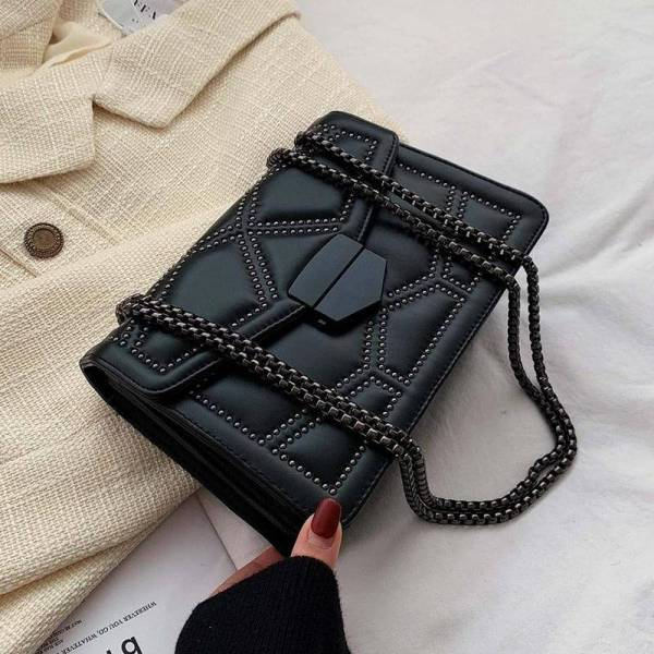 Women's Small Bag with Chain 9