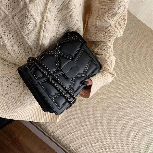 Women's Small Bag with Chain 11