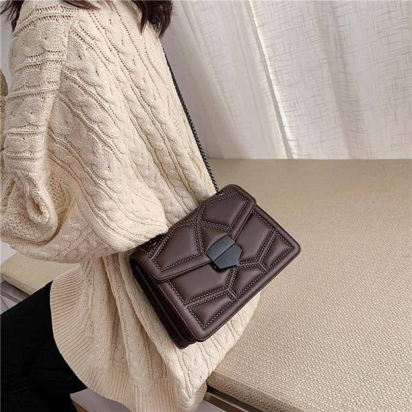 Women's Small Bag with Chain 10