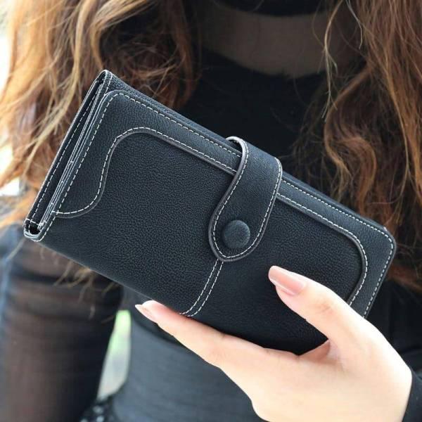 Women's Large Capacity Long Wallet 9