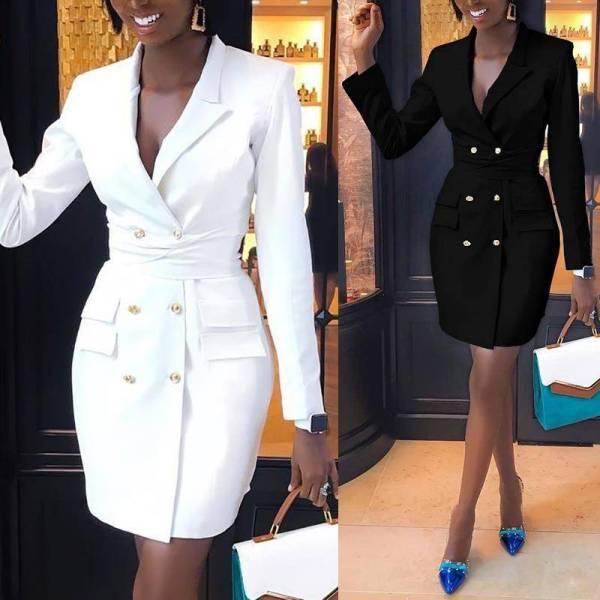 Mini costume professionnel élégant pour femmes 5
