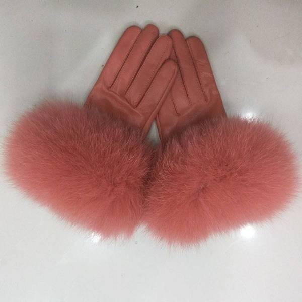 Gants de luxe en cuir véritable pour femmes 8