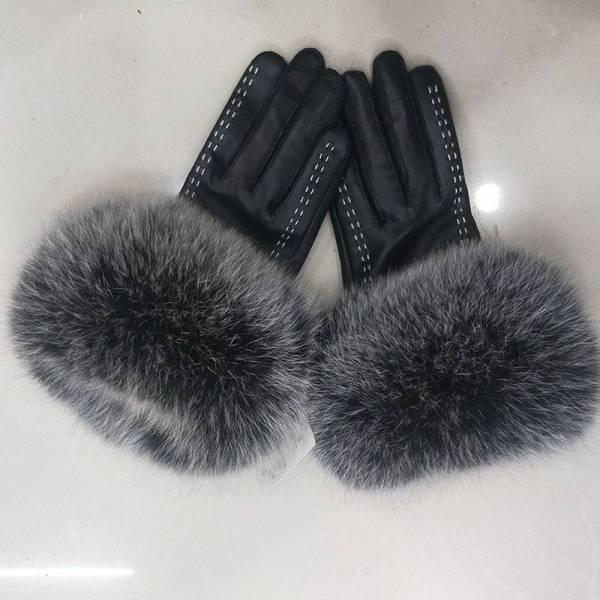 Gants de luxe en cuir véritable pour femmes 6