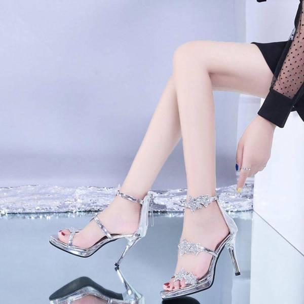 Chaussures brillantes à paillettes 6
