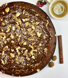 Irresistible Chocolate Brownie with Nuts