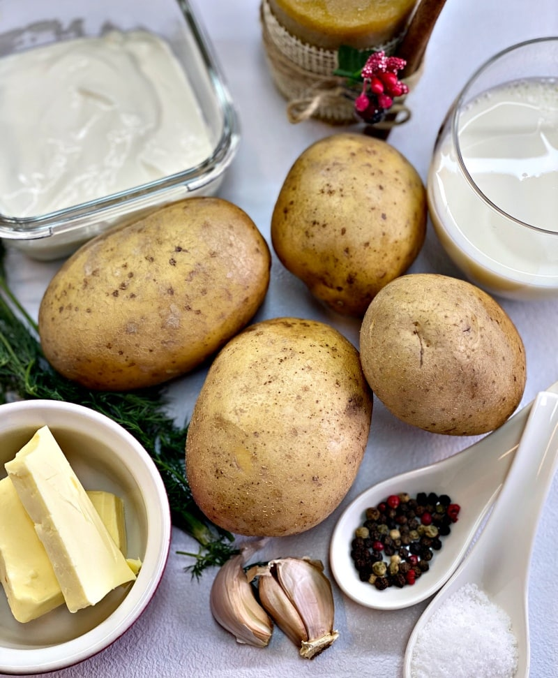 Instant pot mashed potatoes ingredients