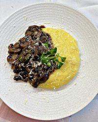 italian Parmesan polenta