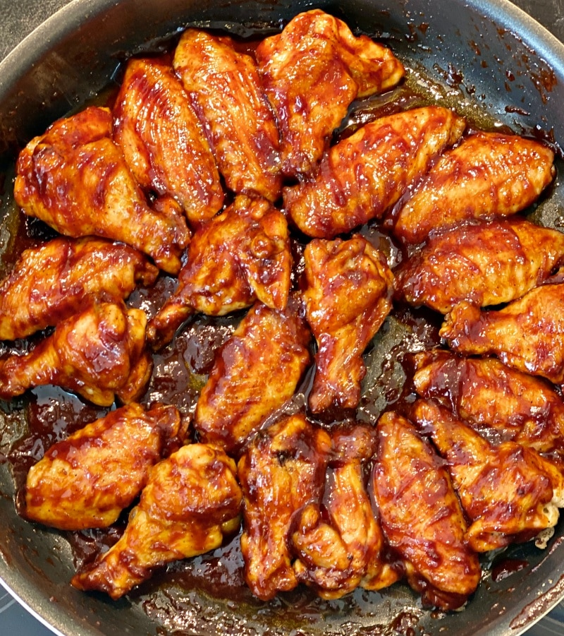 Sticky Chicken Barbecue Wings