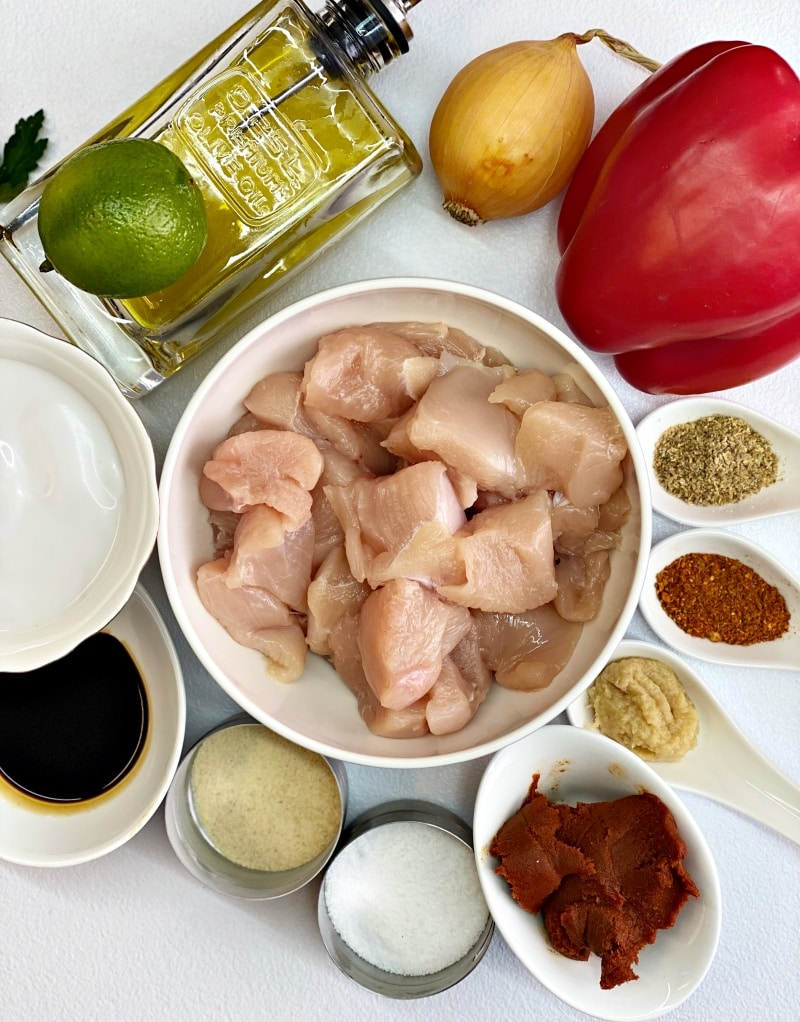 Instantpot-chicken-curry-ingredients