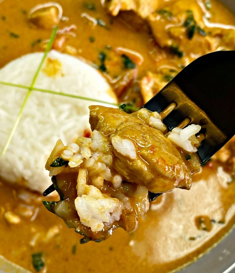 Instantpot-spicy-chicken-curry-with-rice