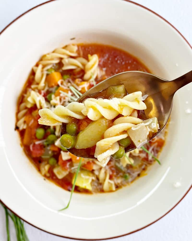Basic & Comforting Instant Pot Minestrone