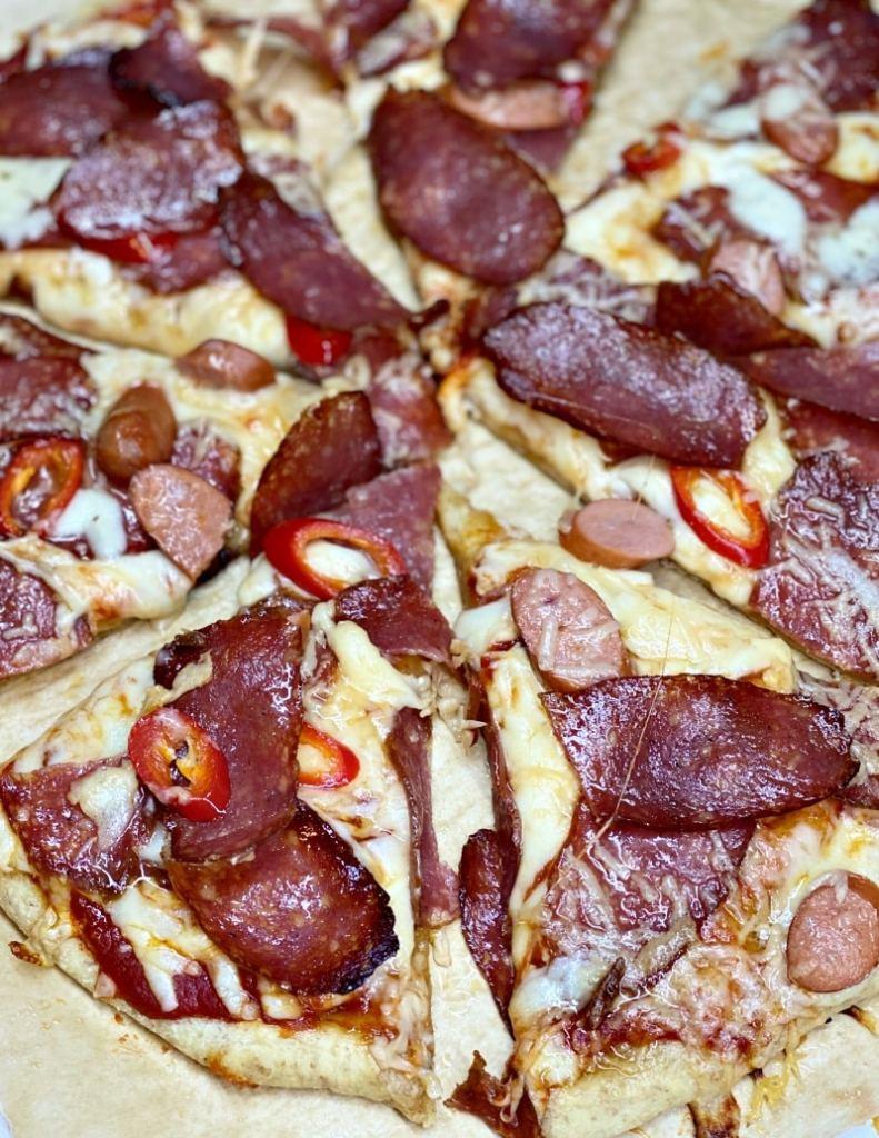 pizza pepperoni recipe