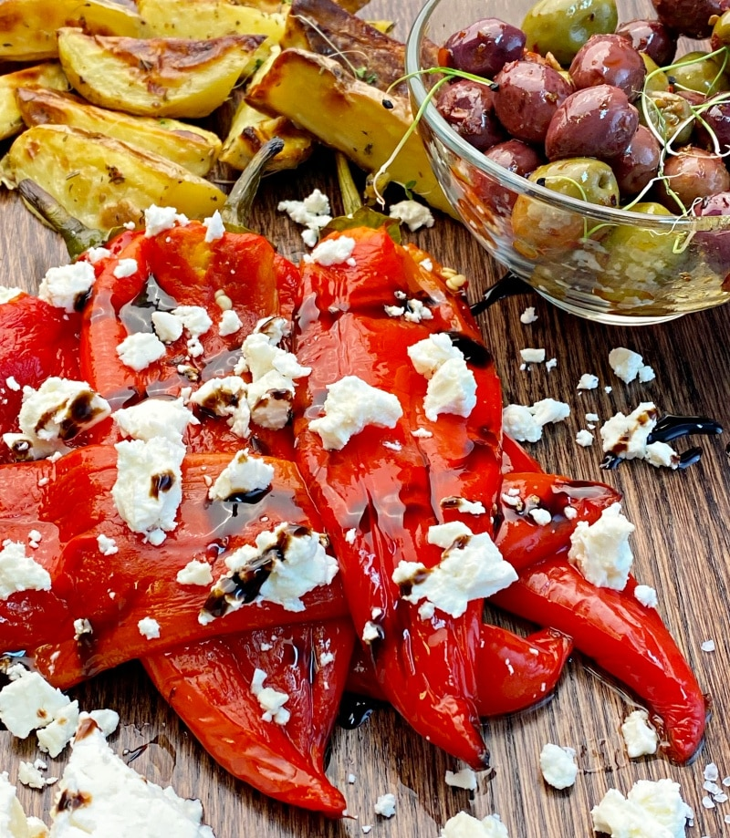 Roasted-red-peppers-with-cheese