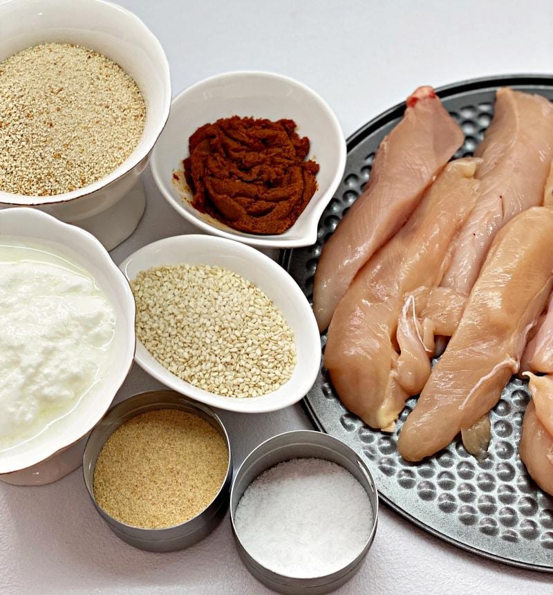 ingredients chicken fingers