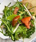 easy arugula tomato salad recipe