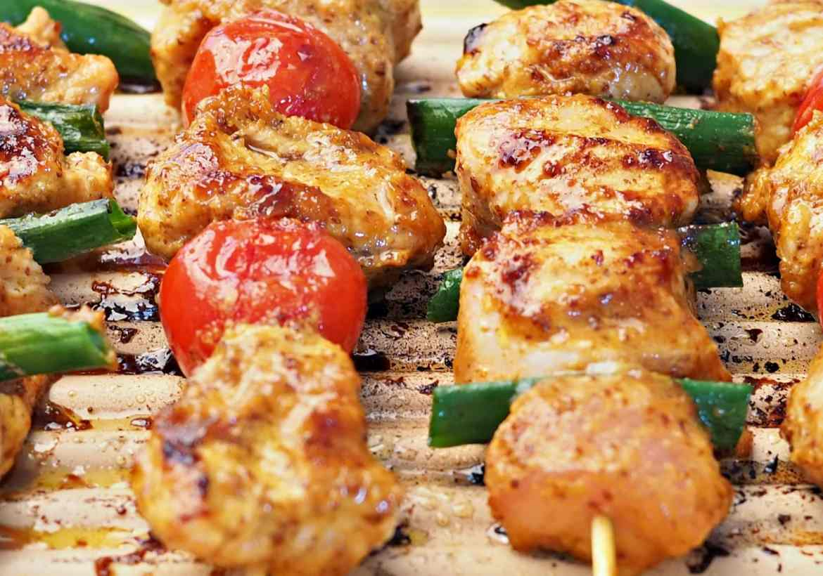 how to cook turkey kabob