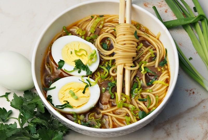 Japenese ramen soup in instant pot