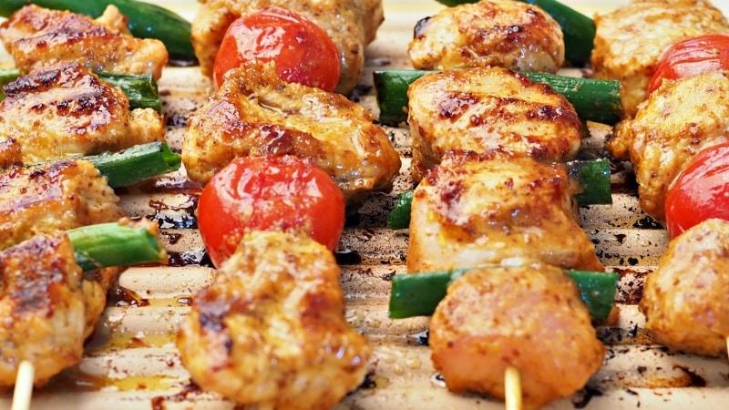 pan-grilled-turkey-skewers