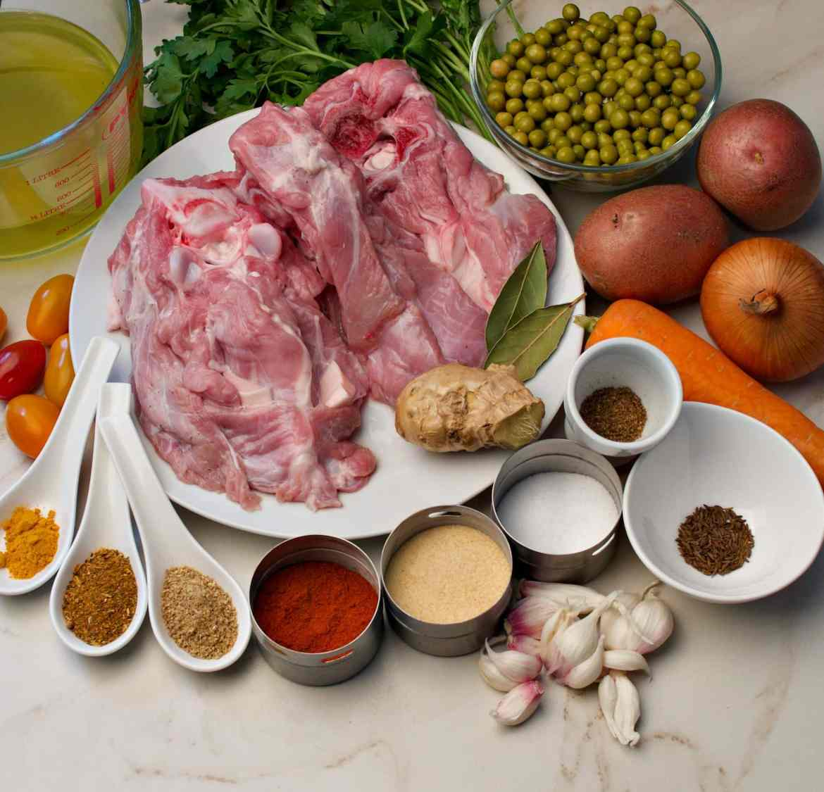 instant pot veal stew ingredients