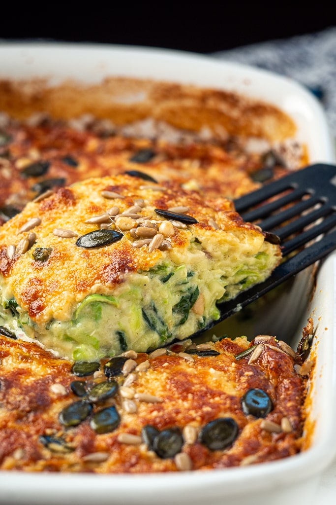 feta zucchini spinach casserole recipe