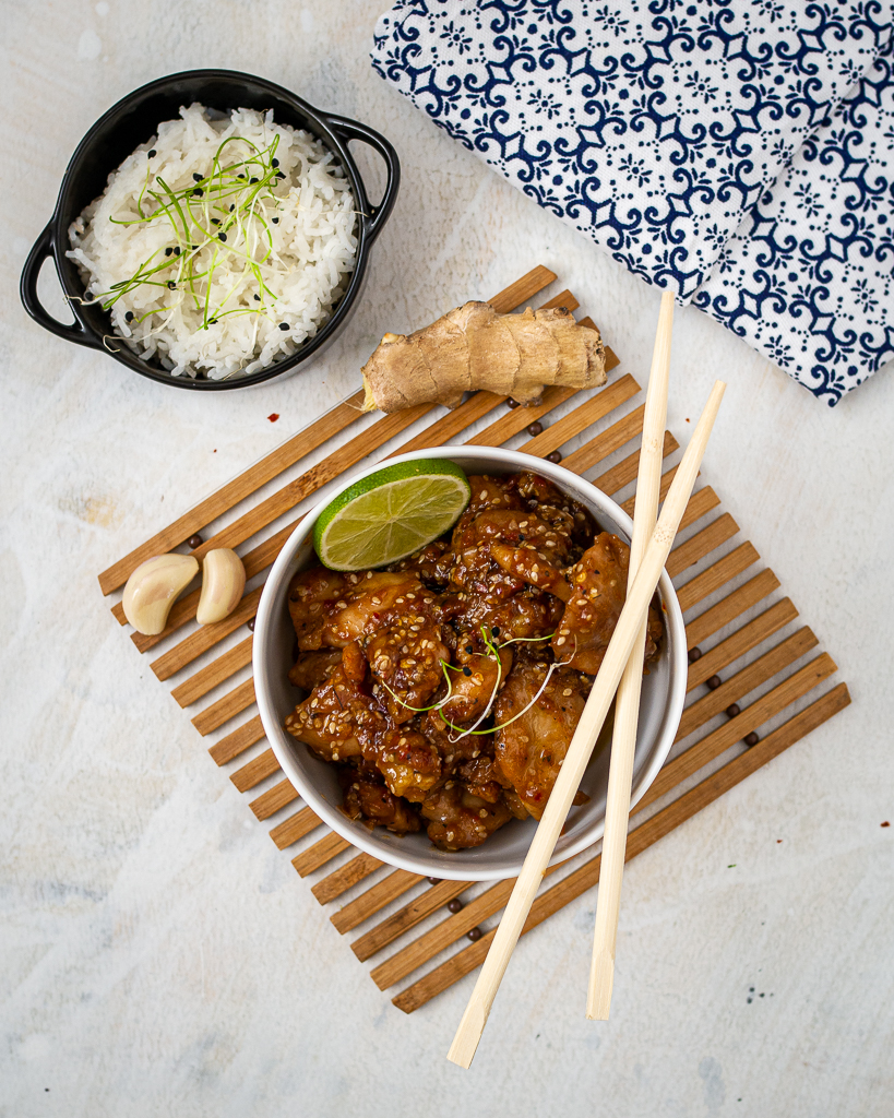 Sweet Spicy Sesame Chicken