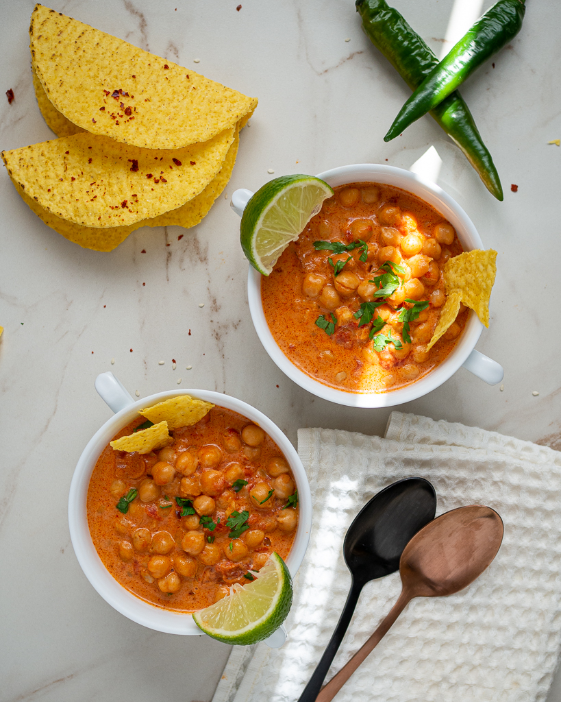 Instant Pot Chickpea Coconut Curry