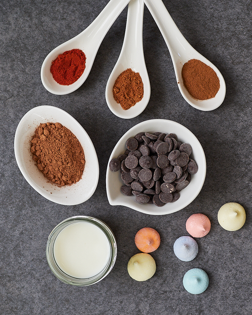 Mexican Hot Chocolate Ingredients