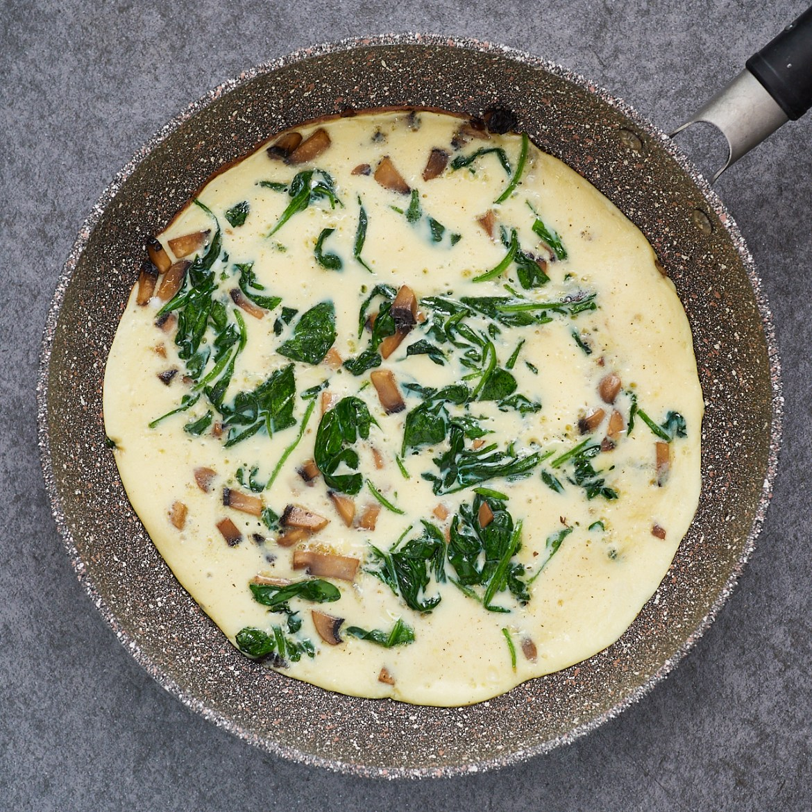 spinach omelet recipe